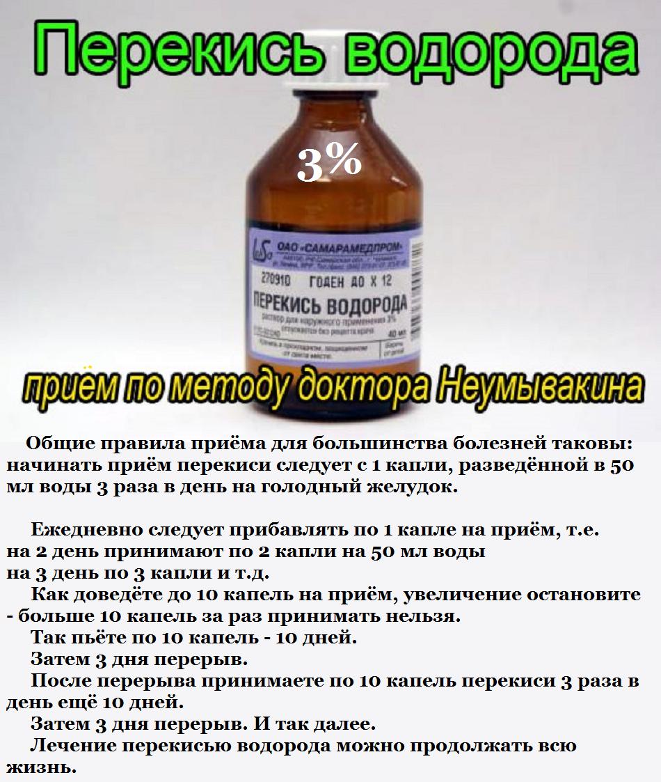 похудение с перекисью водорода