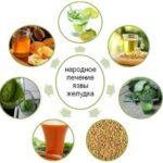 Лечение язвы желудка и гастрита народными средствами