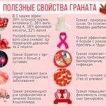 Полезные свойства граната для организма