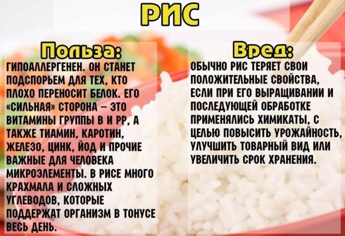 Польза риса