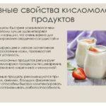 Полезные кисломолочные напитки
